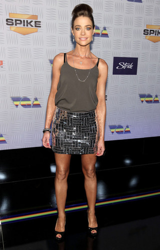 """Denise Richards wallpaper possibly with hot pants called Denise @ Spike TV's """"2010 Video Game Awards"""" - Arrivals"""