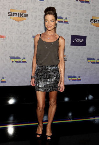 """Denise Richards wallpaper probably with bare legs and hot pants titled Denise @ Spike TV's """"2010 Video Game Awards"""" - Arrivals"""