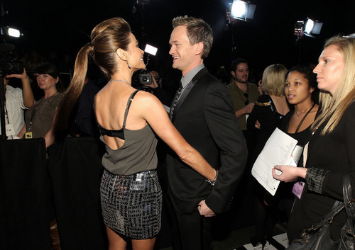 """Denise Richards wallpaper possibly with a business suit entitled Denise @ Spike TV's """"2010 Video Game Awards"""" - Arrivals"""