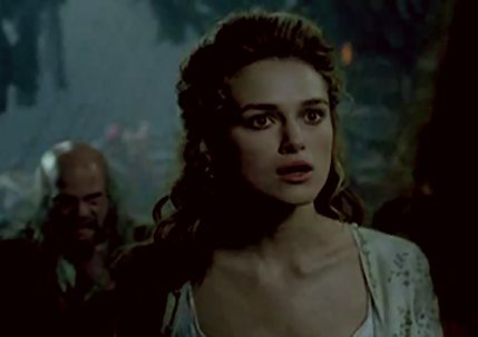 TV Female Characters پیپر وال with a portrait called Elizabeth Swann