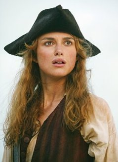 karakter wanita di tv wallpaper possibly with a blus and an outerwear called Elizabeth Swann