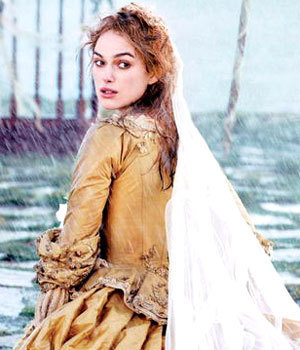 TV Female Characters پیپر وال called Elizabeth Swann