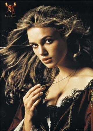 TV 여자 캐릭터 바탕화면 containing a portrait and attractiveness titled Elizabeth Swann