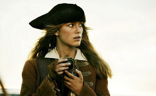 TV Female Characters پیپر وال with a well dressed person, an outerwear, and an overgarment entitled Elizabeth Swann