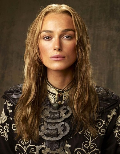 personagens femeninos da televisão wallpaper containing a portrait entitled Elizabeth Swann