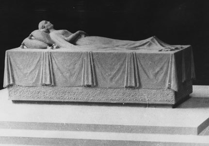 Eva Peron's grave.