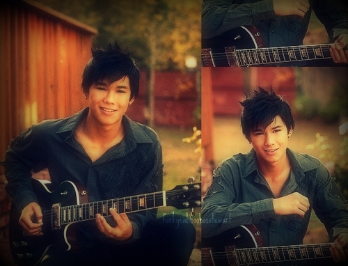 Boo Boo Stewart wallpaper with a guitarist, a concert, and a guitar titled Fan Arts