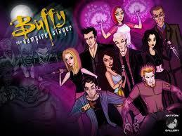 Buffy the Vampire Slayer achtergrond with anime titled fan art of buffy