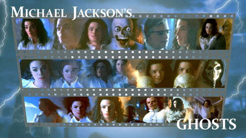 Michael Jackson's Ghosts fondo de pantalla titled Ghosts