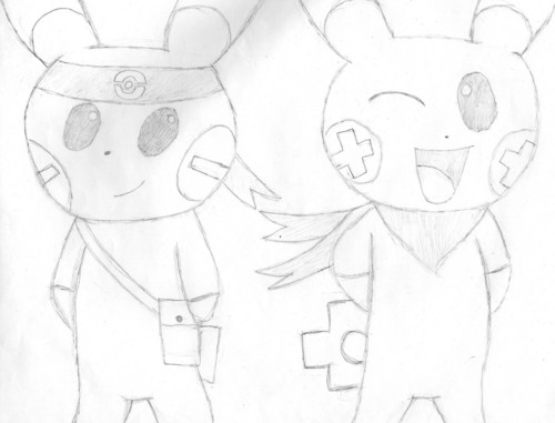 Gift - Plusle and Minun