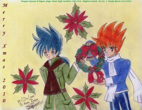 Ginga and Kyouya