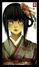 ragazze Anime wallpaper possibly containing Anime and a portrait called Hinata Hyuga
