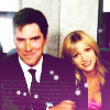 Hotch & JJ photo probably containing a judge advocate, a business suit, and a well dressed person entitled Hotch & JJ