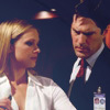 Hotch & JJ photo probably with a portrait called Hotch & JJ