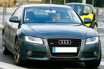 photo of Hugo Lloris Audi - car