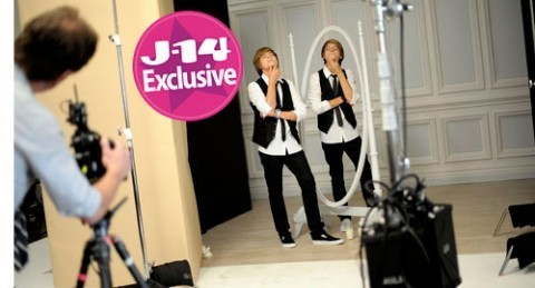 J-14 Magazine Behind Scenes Dylan and Cole Got Milk? Spot!!