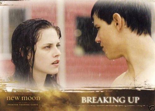 Jacob et Bella fond d'écran containing a portrait called Jacob&Bella