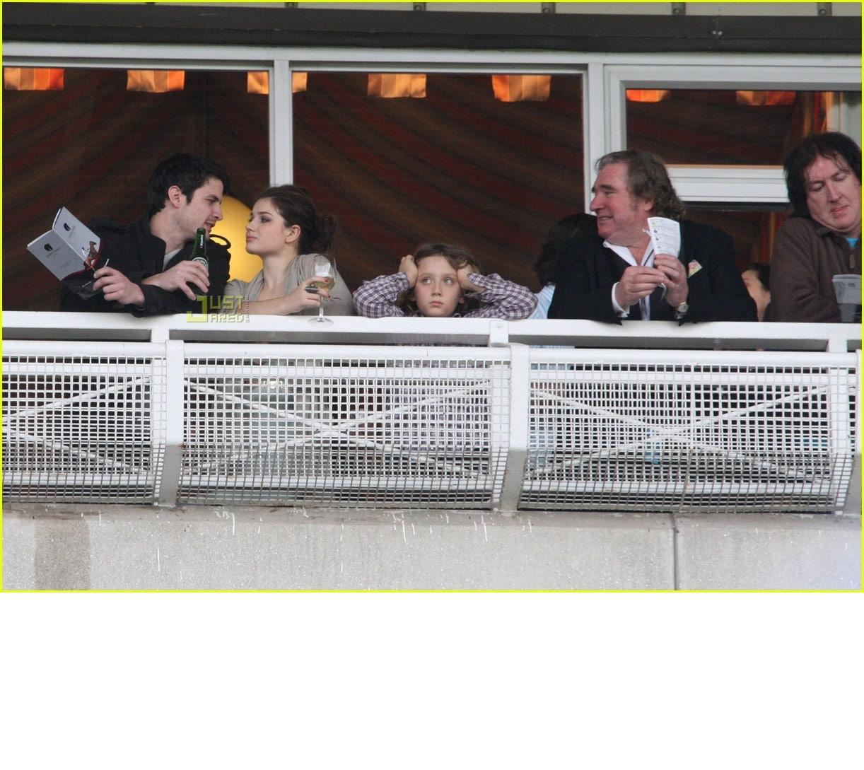 James with new girlfriend Eve Hewson! - James Lafferty ...