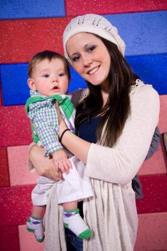 Jenelle Evans And Her Son Jace