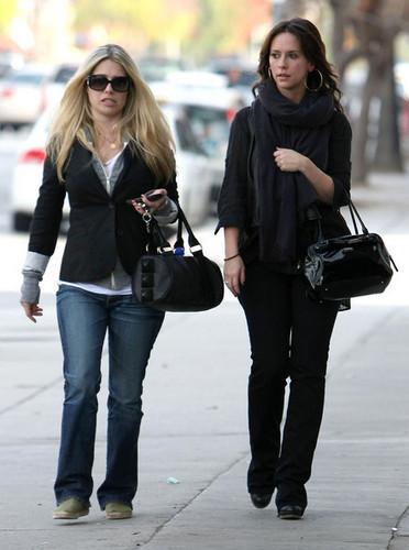 Jennifer out in Studio City