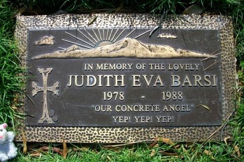 Judith Barsi's Gravesite