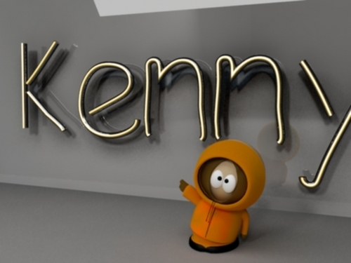 South Park Hintergrund titled Kenny