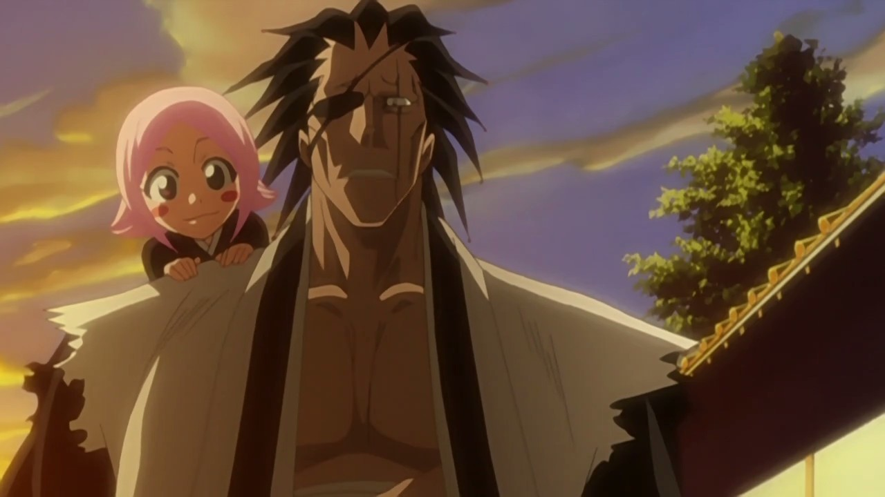 Kenpachi and Yachiru  Yachiru And Kenpachi