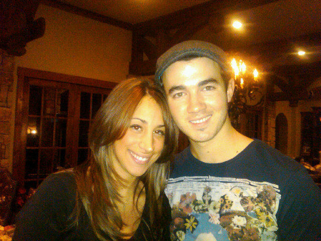 Kevin Jonas And Danielle Jonas at Home on december 28, 2010
