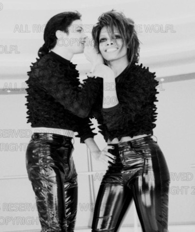 LOL! Michael and Janet!