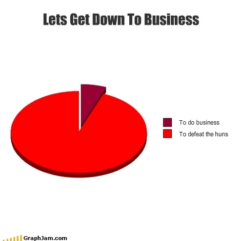 Let's Get Down to Business!