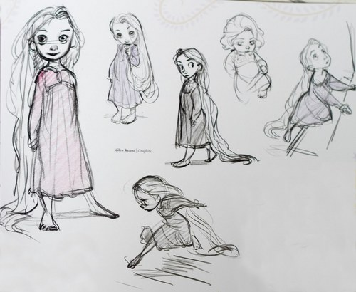 Little Rapunzel Concept Art