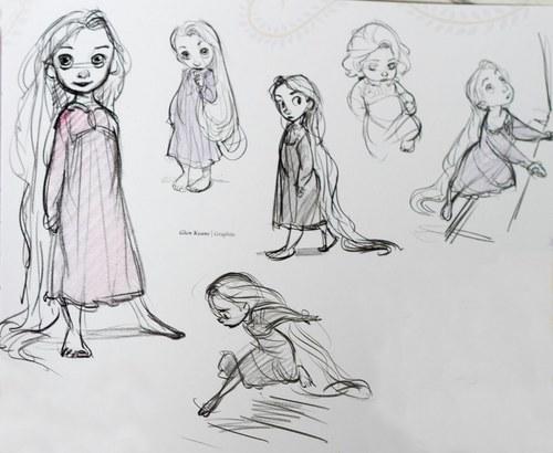 Little Rapunzel Concept Art