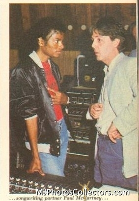 MJ and Paul McCartney
