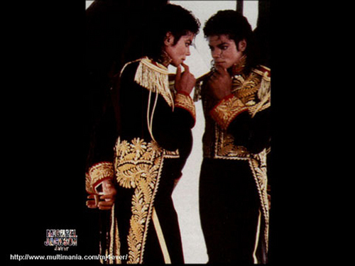 Man in the mirror♥ ♥ L.O.V.E.♥