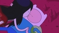 Marceline and Finn kiss