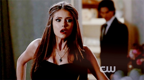 Katherine Pierce Hintergrund with a portrait called Masquerade<3