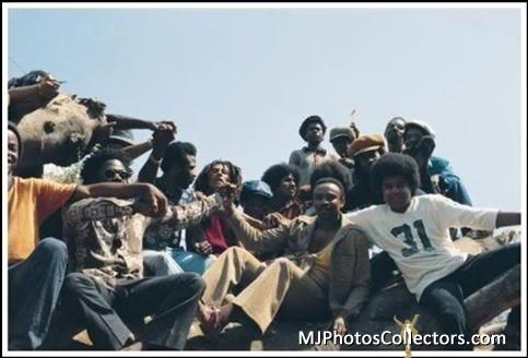 Michael, Jacksons and Bob Marley