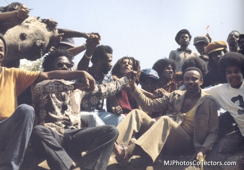 Michael, Jacksons and Bob Marley