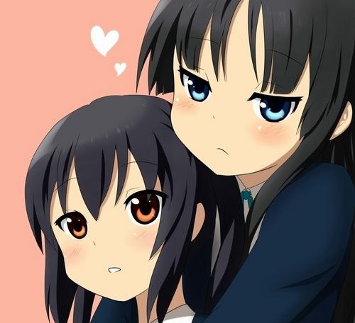 Mio and Azusa!!