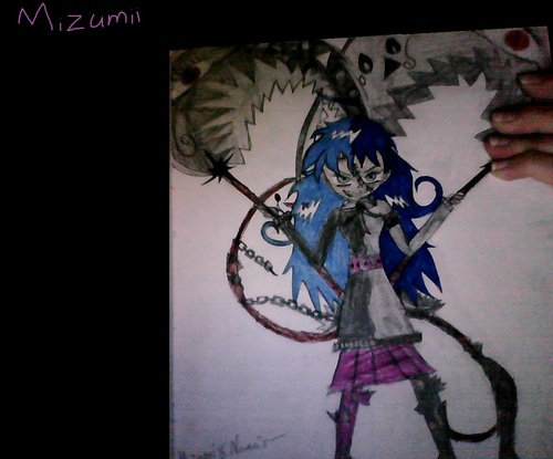 Mizumii, Nana's meiser using witch hunter