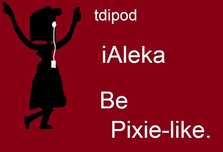 My OC tdipods- Aleka