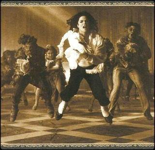 Michael Jackson's Ghosts wallpaper probably containing a well dressed person titled My sweet ghost