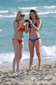 New/Old mga litrato of Candice and Nina at South Beach, Miami (HQ)