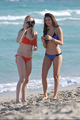 New/Old Fotos of Candice and Nina at South Beach, Miami (HQ)