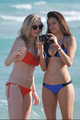 New/Old photos of Candice and Nina at South Beach, Miami (HQ) - candice-accola photo