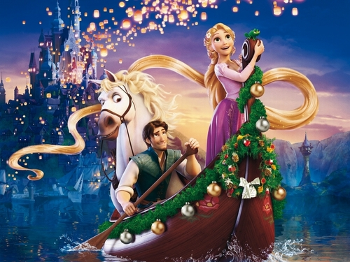 New Year Wallpaper - tangled Wallpaper