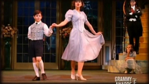 "Nick on the ""Sound Of Music"" as Kurt"