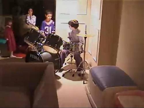 "Nick on the ""Sound Of Music"" as Kurt"