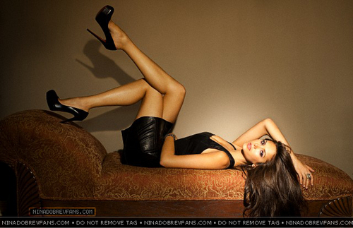 Nina Dobrev Photoshoot سے طرف کی Jake Bailey - New Outtakes