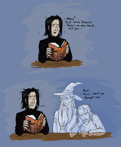 Not Snape - comic